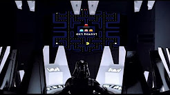 Darth Vader plays Pac-man